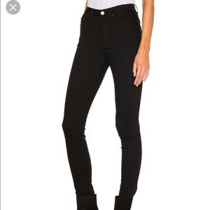 Acne Studio Jeans 23/24 Black Pin Denim